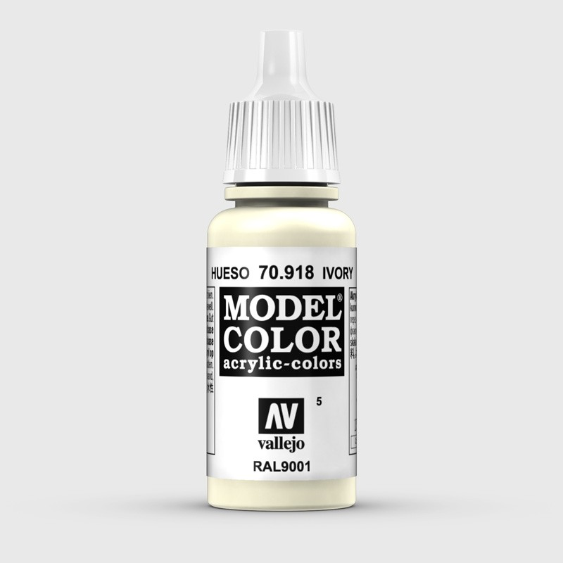 Pintura Aerografia Model Color 70.918 Hueso Vallejo 17ml.