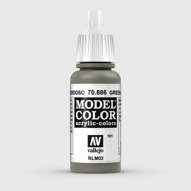 Pintura Aerografia Model Color 70.886 Gris Verdoso Vallejo 17ml.