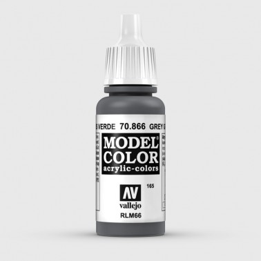 Pintura Aerografia Model Color 70.866 Gris Verde Vallejo 17ml.