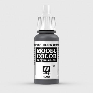 Pintura Aerografia Model Color 70.866 Gris Verde Vallejo 17ml.