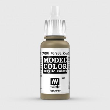 Pintura Aerografia Model Color 70.988 Marrón Caqui Vallejo 17ml.