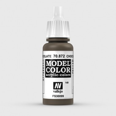 Pintura Aerografia Model Color 70.872 Marrón Chocolate Vallejo 17ml.