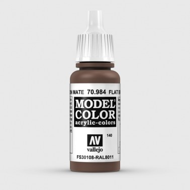 Pintura Aerografia Model Color 70.984 Marrón Mate Vallejo 17ml.