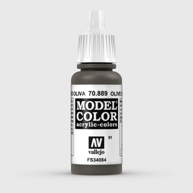 Pintura Aerografia Model Color 70.889 Pardo Oliva Vallejo 17ml.