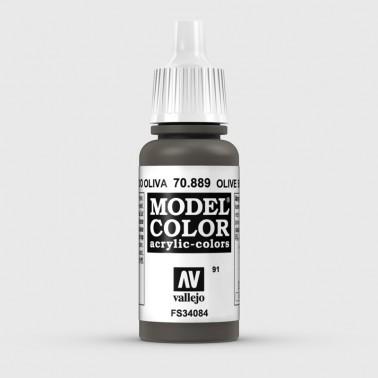 Pintura Aerografia Model Color 70.889 Pardo Oliva Vallejo 17ml.