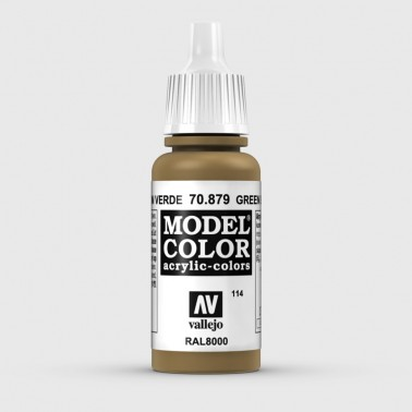 Pintura Aerografia Model Color 70.879 Marrón Verde Vallejo 17ml.