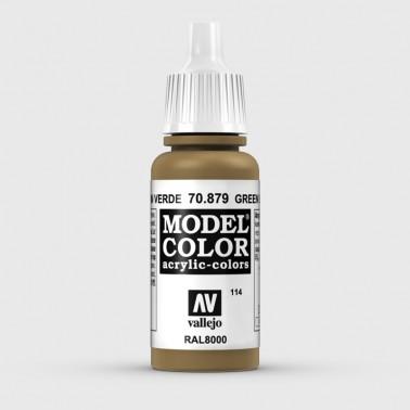 Pintura Aerografia Model Color 70.879 Marrón Verde Vallejo 17ml.