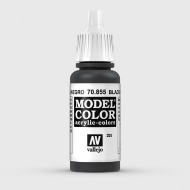 Pintura Aerografia Model Color 70.855 Pátina Negro Vallejo 17ml.