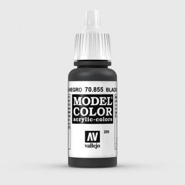 Pintura Aerografia Model Color 70.855 Pátina Negro Vallejo 17ml.
