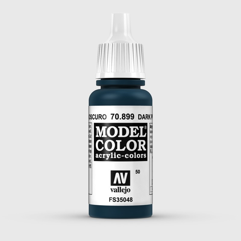 Pintura Aerografia Model Color 70.899 Azul Prusia Oscuro Vallejo 17ml.