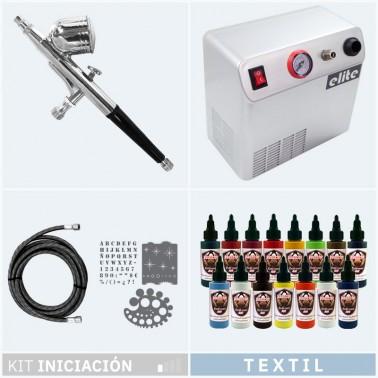Kit Aerografia 013 Iniciación Textil