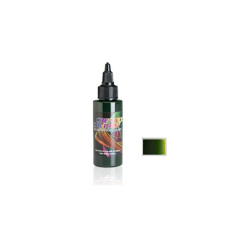 Pintura Aerografia Createx Illustration Verde Musgo