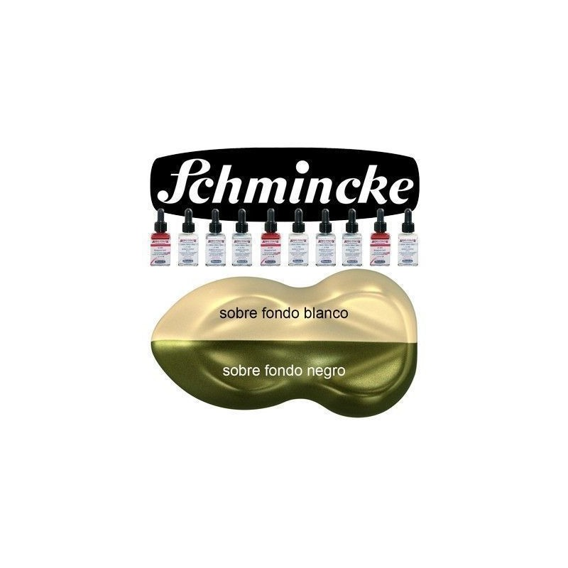 Pintura Aerografia Schmincke AutoColor AeroMetallic Oro Brillante