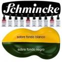 Pintura Aerografia Schmincke AutoColor 203 Amarillo Indio formulado para aplicar con aerógrafo, pincel, tira-líneas, estilo tinta china<br /><br />El color de la imagen es orientativo.