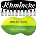 Pintura Aerografia Schmincke AutoColor 201 Amarillo Lim&oacute;n formulado para aplicar con aer&oacute;grafo, pincel, tira-l&iacute;neas, estilo tinta china<br /><br />El color de la imagen es orientativo.