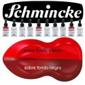 Pintura Aerografia Schmincke AutoColor 302 Carm&iacute;n formulado para aplicar con aer&oacute;grafo, pincel, tira-l&iacute;neas, estilo tinta china<br /><br />El color de la imagen es orientativo.