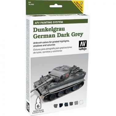 Pintura Aerografia Model Air Gris Oscuro Aleman