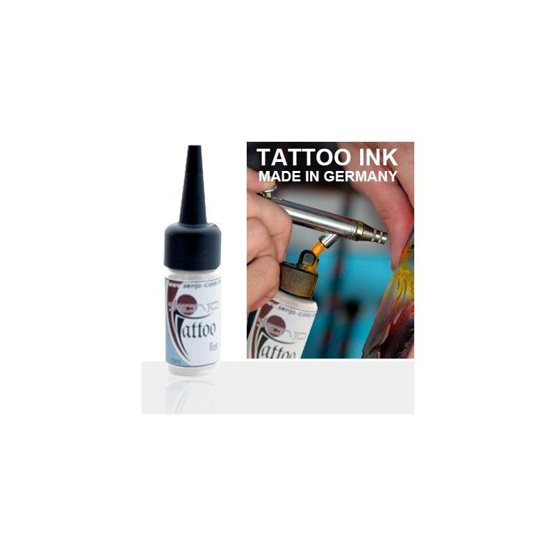 Tinta Tatuaje Aerografia Senjo Tattoo Ink Blanco