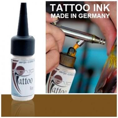 Tinta Tatuaje Aerografia Senjo Tattoo Ink Marron Henna