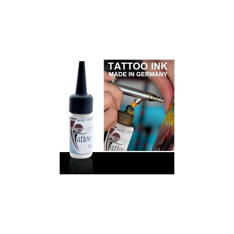 Tinta Tatuaje Aerografia Senjo Tattoo Ink Negro