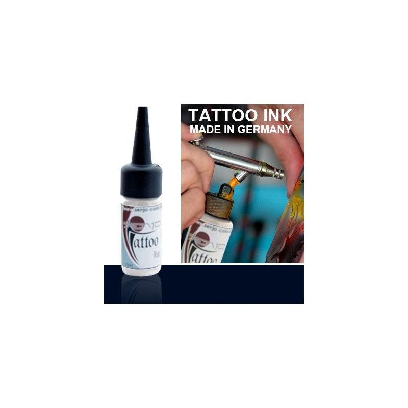 Tinta Tatuaje Aerografia Senjo Tattoo Ink Negro Azulado