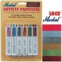 <h2>Pintura Markal Paintstik Pro 50ml Set Tradicional 6 Colores</h2> <p>Ideal para estarcir, dibujar, esbozar, pintar, y crear murales de trampantojo.</p> <p>Genial en soportes como lienzo, tela, madera, metal, paredes, cristal, pl&aacute;stico, vidrio y cer&aacute;mica.<br /><br />El color de la imagen es orientativo.</p>