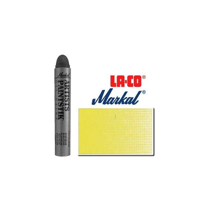 Pintura Markal Paintstik Pro 50ml Amarillo Sol Flourescente
