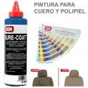 <p>Pintura Sure Coat Azul Thalo para cuero, polipiel y pl&aacute;sticos</p> <p>Sure Coat es una gama de pinturas&nbsp;para la Restauraci&oacute;n de Cuero y Polipiel&nbsp;de base agua que ofrece excelente flexibilidad<br />El color de la imagen es orientativo.</p>
