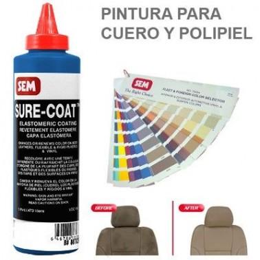 Pintura Cuero Sure Coat Azul Thalo