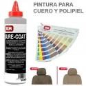 <p>Pintura Sure Coat Plata para cuero, polipiel y pl&aacute;sticos</p> <p>Sure Coat es una gama de pinturas&nbsp;para la Restauraci&oacute;n de Cuero y Polipiel&nbsp;de base agua que ofrece excelente flexibilidad<br />El color de la imagen es orientativo.</p>