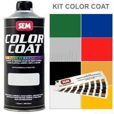 Pintura Polipiel Color Coat Kit Completo