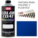 Pintura Polipiel Color Coat Azul Solido