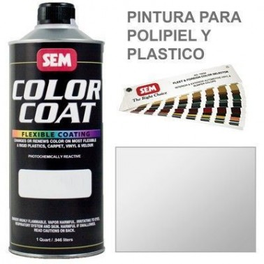 Pintura Polipiel Color Coat Blanco