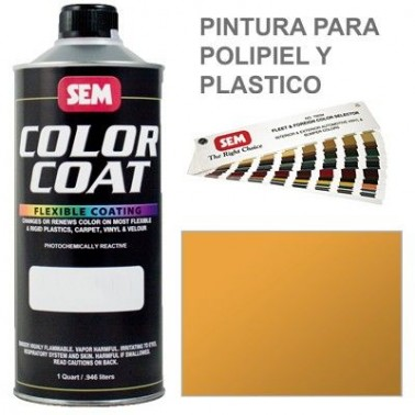 Pintura Polipiel Color Coat Amarillo Oxido