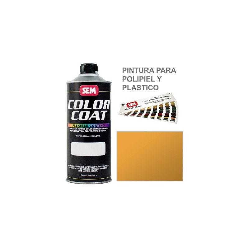 Pintura Polipiel Color Coat Amarillo Oxido