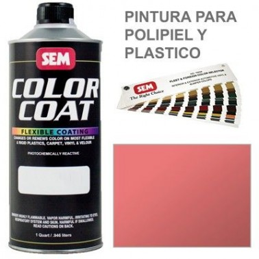 Pintura Polipiel Color Coat Oxido Rojo