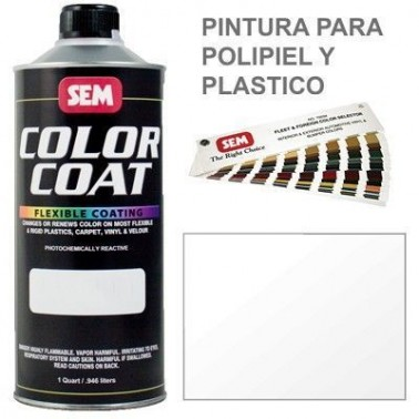 Pintura Polipiel Color Coat Barniz Brillo