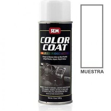 Pintura Polipiel Color Coat Blanco Lona Aerosol