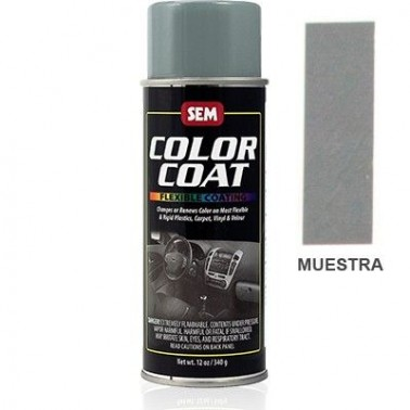 Pintura Polipiel Color Coat Gris Thomas Bus Aerosol