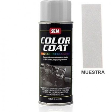Pintura Polipiel Color Coat Plata Aerosol
