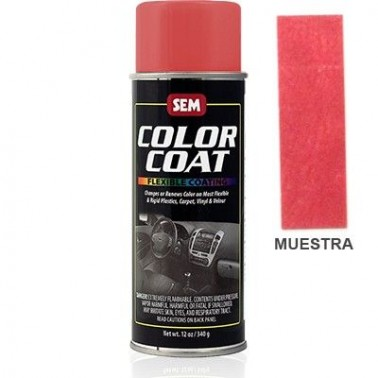 Pintura Polipiel Color Coat Rojo Portola Aerosol