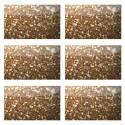 Purpurina Flake Polipur 61P Sahara de PET que ofrece mayor brillo que cualquier otra de nuestras purpurinas<br /><br />El color de la imagen es orientativo.