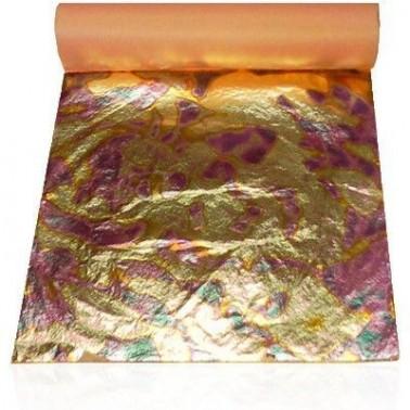 Pan de Oro Rojo 25 hojas
