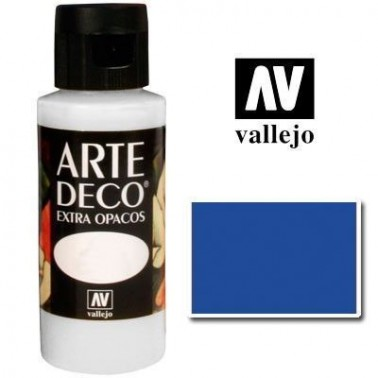 Pintura Vallejo Arte Deco Azul Celeste