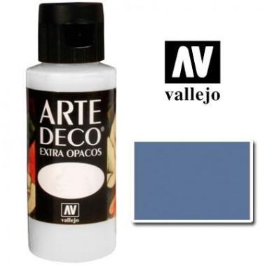 Pintura Vallejo Arte Deco Azul Gris