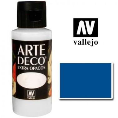 Pintura Vallejo Arte Deco Azul Medio