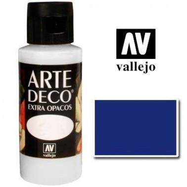 Pintura Vallejo Arte Deco Azul Ultramar