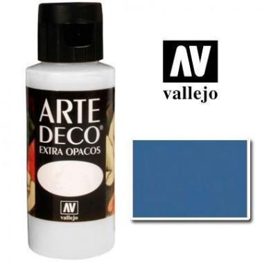 Pintura Vallejo Arte Deco Azul Inglés