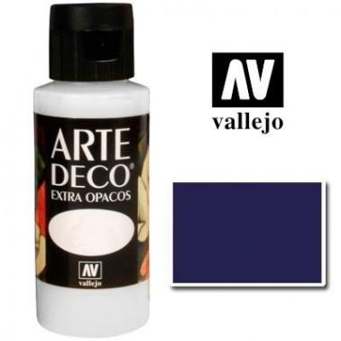 Pintura Vallejo Arte Deco Azul Marino