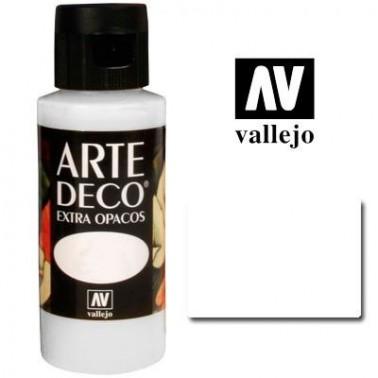 Pintura Vallejo Arte Deco Blanco